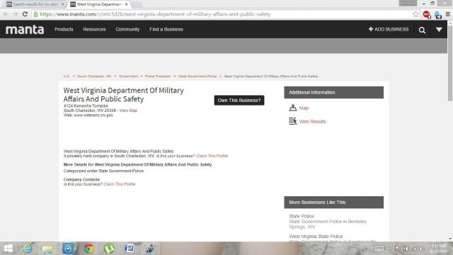 dept of military affairs