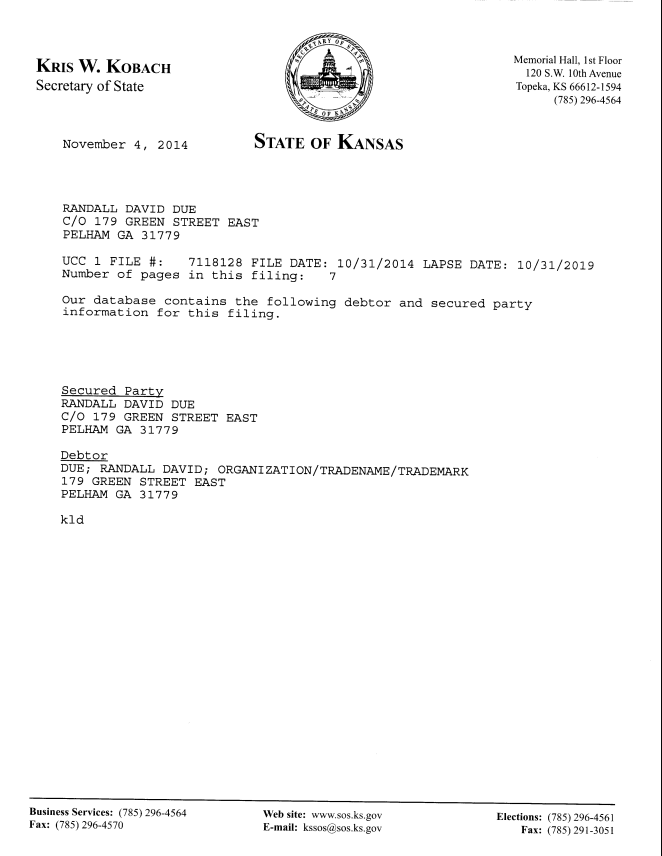 Filed UCC Financing Statement Kansas10-31-2014_Page_1