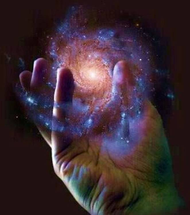 God Holding The World in His Hands