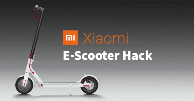 xiaomi electric scooter hack